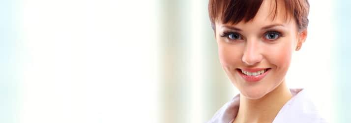 Lady close-up